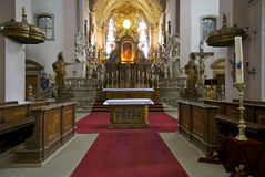 St. Michael's Altar. The altar of St. Michael's Church in Bamberg, Germany stock photos