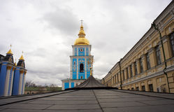 St. Michael's Bell Tower in Kiev, Ukraine Royalty Free Stock Photos