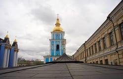 St. Michael's Bell Tower in Kiev, Ukraine Royalty Free Stock Photos