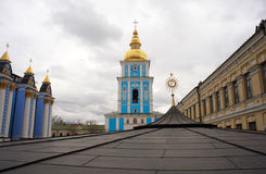 St. Michael's Bell Tower in Kiev, Ukraine Stock Photography