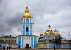 St. Michael's Bell Tower in Kiev, Ukraine Stock Images