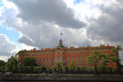 St. Michael's Castle, Petersburg Stock Image
