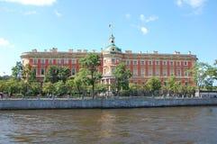 St. Michael's Castle. Saint-Petersburg, Russia Stock Image
