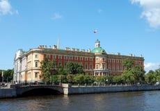 St. Michael's Castle. Saint-Petersburg, Russia Stock Photo