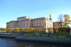 St. Michael's Castle in St.Petersburg Stock Photography