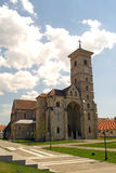 St. Michael's Cathedral, Alba Iulia. St. Michael's Cathedral is the Roman Catholic cathedral of the Roman Catholic Archdiocese of Alba Iulia, Romania, and the Royalty Free Stock Images