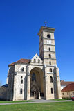 St. Michael`s Cathedral in Citadel of Alba Iulia, Royalty Free Stock Photo