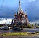 St. Michael`s Cathedral, Izhevsk Stock Image