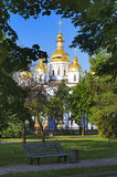 St. Michael's Cathedral in Kiev Stock Photography