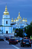 St. Michael's cathedral in Kiev royalty free stock photo
