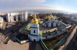 St. Michael's Cathedral in Kiev, Ukraine Stock Images