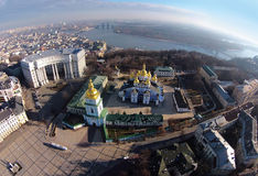 St. Michael's Cathedral in Kiev, Ukraine Stock Photography