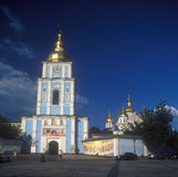 St. Michael's cathedral in Kyiv. Royalty Free Stock Photo