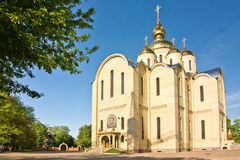 St. Michael's Cathedral Stock Photo