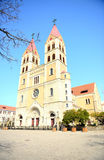 A Catholic Church in Qingdao Stock Photo