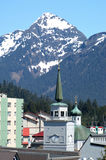 St. Michael's Cathedral  in Sitka, Alaska Stock Photo