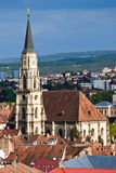 St. Michael's Church, Cluj-Napoca Royalty Free Stock Photo