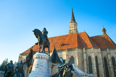St. Michael`s Church. Cluj-Napoca. Romania Stock Images