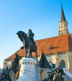 St. Michael`s Church. Cluj-Napoca. Romania Stock Photography