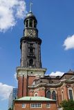 St. Michael's Church in Hamburg Royalty Free Stock Photos