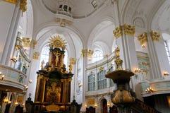 St.Michael's church in Hamburg Royalty Free Stock Image