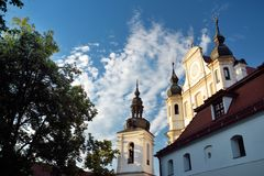 St Michael`s Church or St. Michael the Archangel Church, a former Roman Catholic church in Vilnius` Old Town. Now hosting the Church Heritage Museum royalty free stock image
