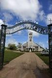 St Michael's church in Tonga. Church in Tongatapu - the biggest Tongan island Royalty Free Stock Photography