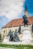 St. Michael's Church Tower, Cluj Napoca, Romania Stock Photos