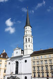 St. Michael's Church in Vienna, Austria Stock Photo