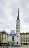 St. Michael's Church, Vienna Stock Photo