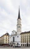 St. Michael's Church, Vienna Stock Image