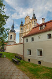 St. Michael's Church in Vilnius, Lithuania Stock Photo