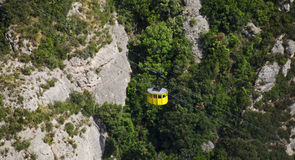 Cable Car at Monserrat, Spain Stock Photos