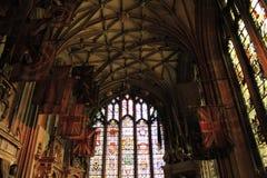 St Michael& x27; s de Kathedraal Engeland van Kapelcanterbury stock foto's