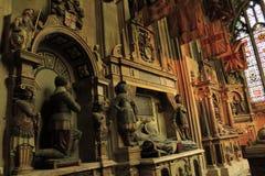 St Michael& x27; s de Kathedraal Engeland van Kapelcanterbury stock foto