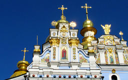 St. Michael's Golden Dome Monastery in Kiev Royalty Free Stock Photos