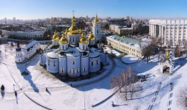 St. Michael's Golden-Domed Cathedral in Kiev Royalty Free Stock Photo