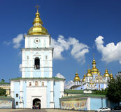 St. Michael's Golden-Domed Cathedral in Kyiv Royalty Free Stock Photography