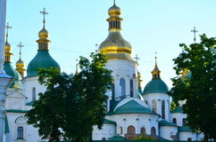 St. Michael`s Golden-Domed, Kiev Royalty Free Stock Photo