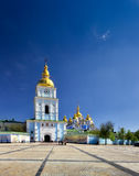 St. Michael's Golden-Domed Monastery. Famous touristic place St. Michael's Golden-Domed Monastery located in Kiev, Ukraine Royalty Free Stock Photography