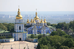 St. Michael's Golden-Domed Monastery Stock Photography