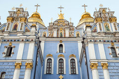 St. Michael's Golden-Domed Monastery - famous church in Kyiv, Uk Royalty Free Stock Photography
