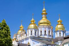 St. Michael's Golden-Domed Monastery in Kiev Royalty Free Stock Images