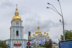 St. Michael`s Golden-Domed Monastery Stock Photos
