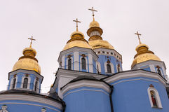 St. Michael's Golden Domed Monastery, Kiev Stock Photography