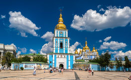 St. Michael's Golden-Domed Monastery. Kiev, Ukraine Stock Photos
