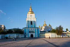 The St. Michael's Golden-Domed Monastery, Kiev Stock Photography