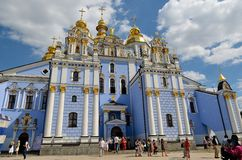 St. Michael's Golden-Domed Monastery, Kiev Royalty Free Stock Images