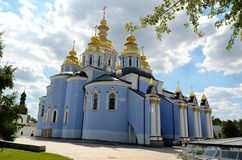 St. Michael's Golden-Domed Monastery, Kiev Stock Photos