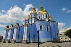 St. Michael's Golden-Domed Monastery, Kiev Stock Photography